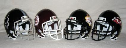 Custom Fantasy Football Mini Helmets - Click Image to Enlarge