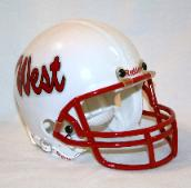 Riddell Custom Mini Helmet - Click Image to Enlarge